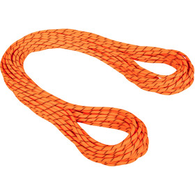 Mammut 8.7 Alpine Sender Dry Cuerda 60m, naranja/negro